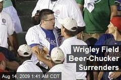 Wrigley Field Beer-Chucker Surrenders