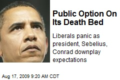 Public Option On Its Death Bed