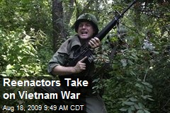 Reenactors Take on Vietnam War