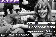 Terror Docudrama Baader-Meinhof Impresses Critics