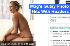 Mag's Gutsy Photo Hits With Readers
