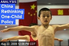 China Rethinking One-Child Policy