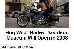 Hog Wild: Harley-Davidson Museum Will Open in 2008