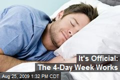 It's Official: The 4-Day Week Works