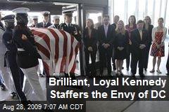 Brilliant, Loyal Kennedy Staffers the Envy of DC