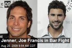 Jenner, Joe Francis in Bar Fight