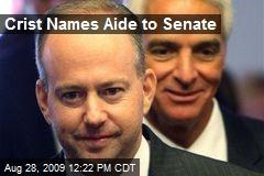 Crist Names Aide to Senate