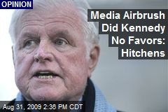 Media Airbrush Did Kennedy No Favors: Hitchens
