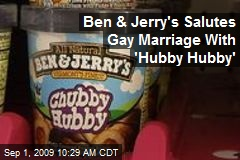 Ben & Jerry's Salutes Gay Marriage With 'Hubby Hubby'