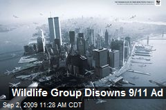 Wildlife Group Disowns 9/11 Ad