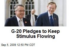 G-20 Pledges to Keep Stimulus Flowing