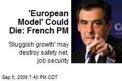 'European Model' Could Die: French PM