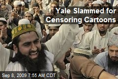 Yale Slammed for Censoring Cartoons