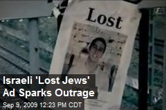 Israeli 'Lost Jews' Ad Sparks Outrage