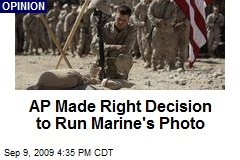 AP Made Right Decision to Run Marine's Photo