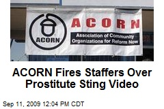 ACORN Fires Staffers Over Prostitute Sting Video