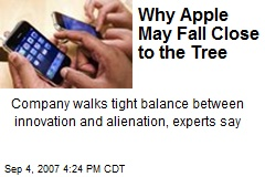Why Apple May Fall Close to the Tree