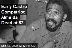 Early Castro Compatriot Almeida Dead at 82
