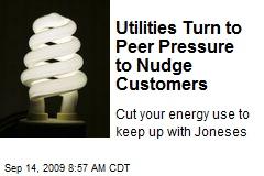 Utilities Turn to Peer Pressure to Nudge Customers