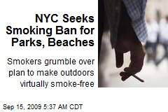 NYC Seeks Smoking Ban for Parks, Beaches