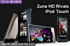 Zune HD Rivals iPod Touch