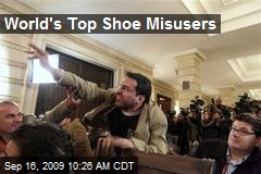 World's Top Shoe Misusers