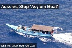Aussies Stop 'Asylum Boat'