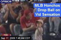 MLB Honchos Drop Ball on Vid Sensation