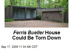 Ferris Bueller House Could Be Torn Down
