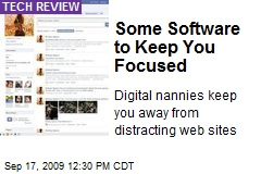 Some Software to Keep You Focused