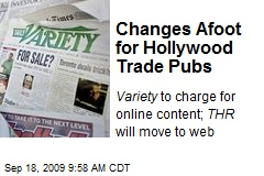 Changes Afoot for Hollywood Trade Pubs