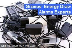 Gizmos' Energy Draw Alarms Experts