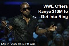 WWE Offers Kanye $10M to Get Into Ring