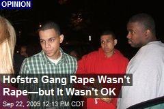 Hofstra Gang Rape Wasn't Rape—but It Wasn't OK
