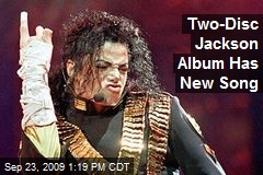 Two-Disc Jackson Album Has New Song