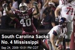 South Carolina Sacks No. 4 Mississippi
