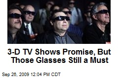 3-D TV Shows Promise, But Those Glasses Still a Must