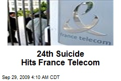 24th Suicide Hits France Telecom