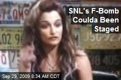 SNL's F-Bomb Coulda Been Staged