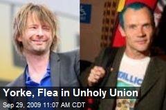 Yorke, Flea in Unholy Union