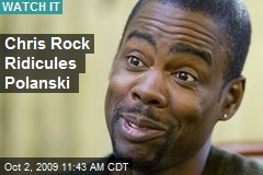 Chris Rock Ridicules Polanski