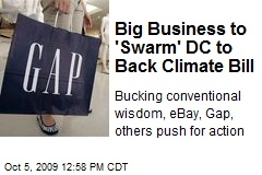 Big Business to 'Swarm' DC to Back Climate Bill