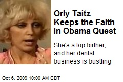 Orly Taitz Keeps the Faith in Obama Quest