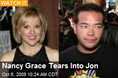 Nancy Grace Tears Into Jon