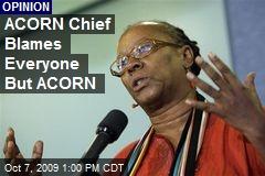 ACORN Chief Blames Everyone But ACORN