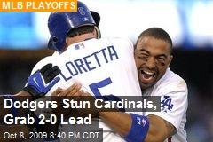 Dodgers Stun Cardinals, Grab 2-0 Lead