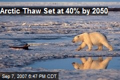 Arctic Thaw Set at 40% by 2050