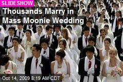 Thousands Marry in Mass Moonie Wedding