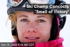 Ski Champ Concocts 'Smell of Victory'