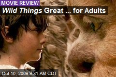 Wild Things Great ... for Adults